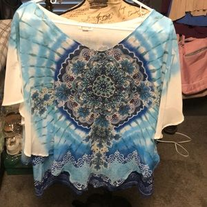 Beautiful butterfly blouse brand new